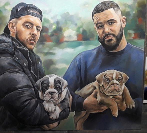 drawing of pets